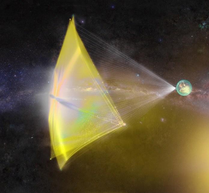 Breakthrough-Starshot-solar-nanocraft-lightsail