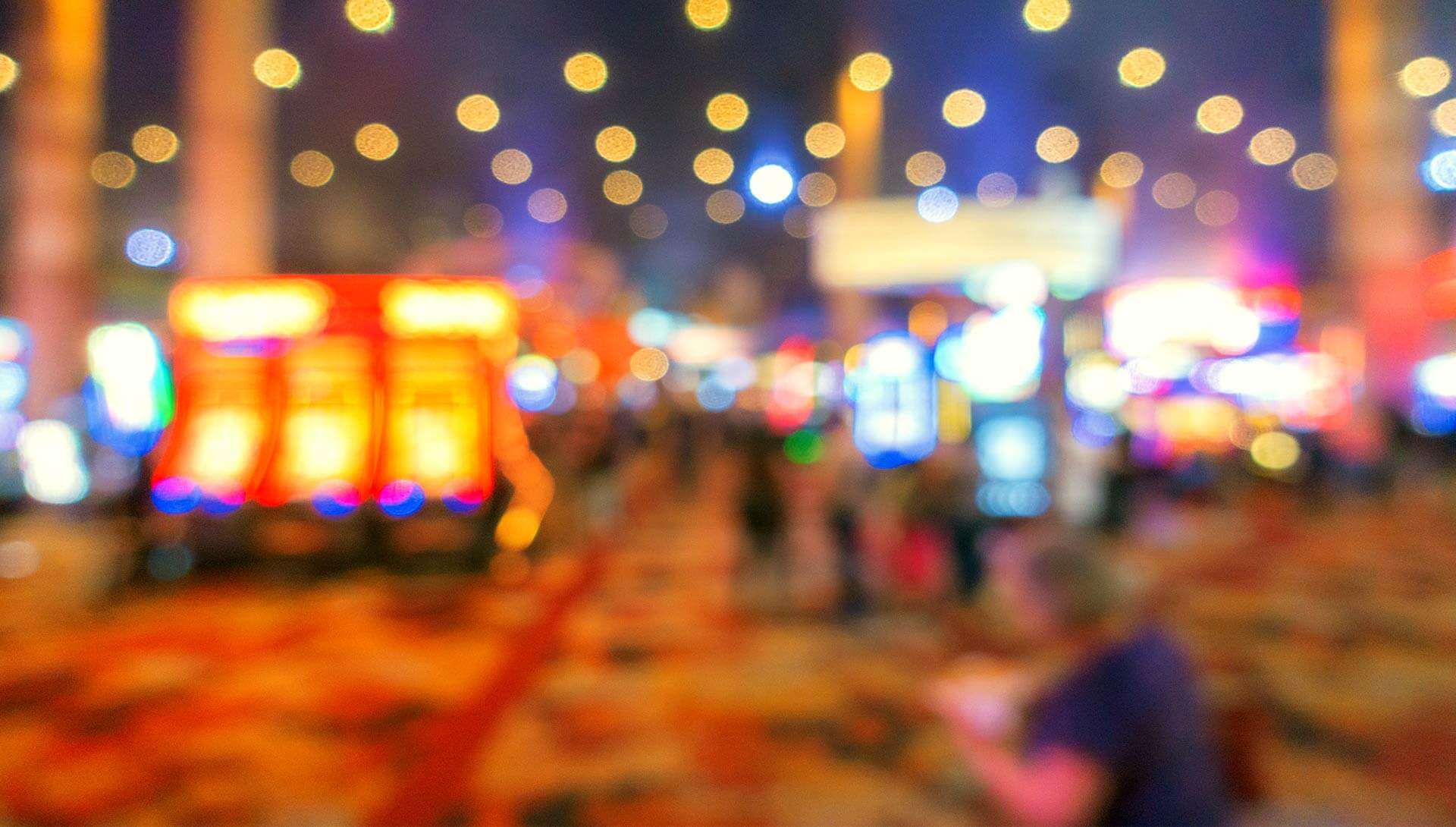 abstract blurred background casino