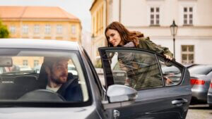 Uber driver and rider Europe