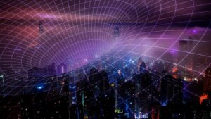 quantum communication city wormhole