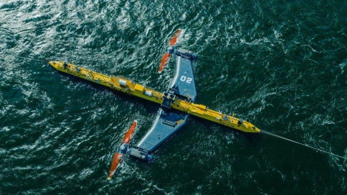tidal turbine renewable energy