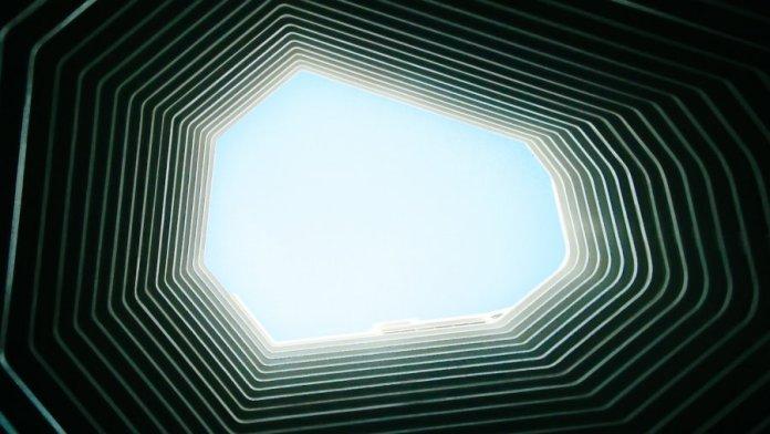 tech stories sky architecture geometric layers