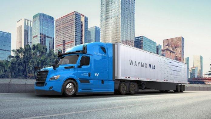 Waymo driverless truck Texas self-driving