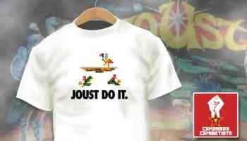 Camiseta Joust Do It - Camarada Camisetista - Singular Shirts