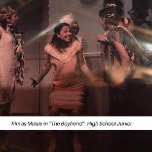 Kim as Maisie in The Boyfriend