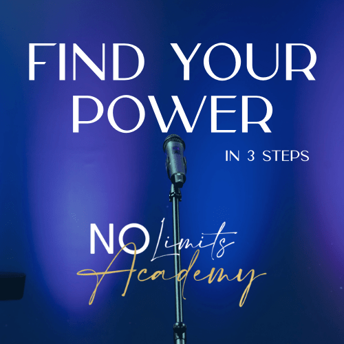 Find Your POWER in 3 Steps