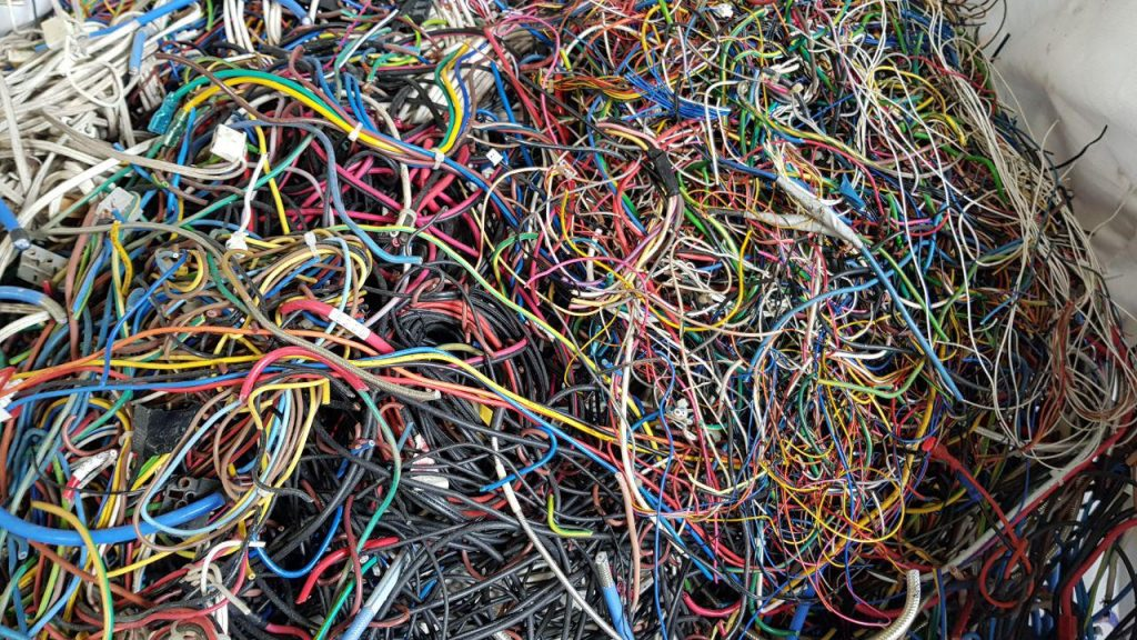 sell scrap wires