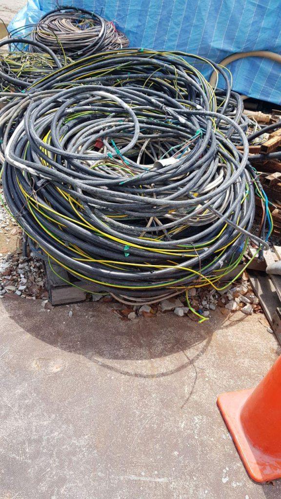 Scrap cables