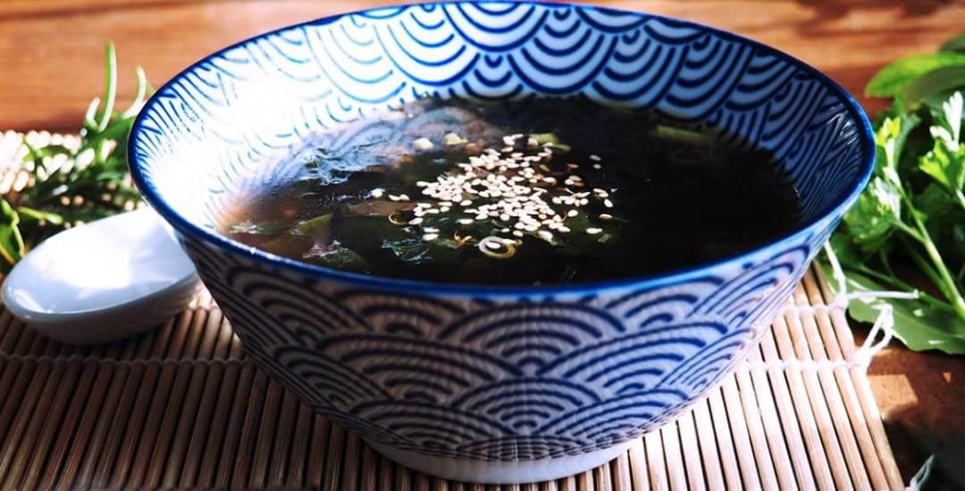 sopa de algas