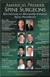 America's Premier Spine Surgeons