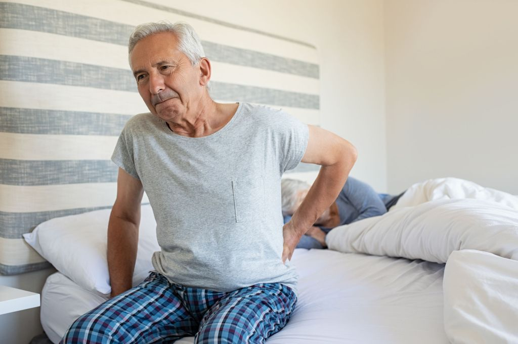Old Man Back Pain