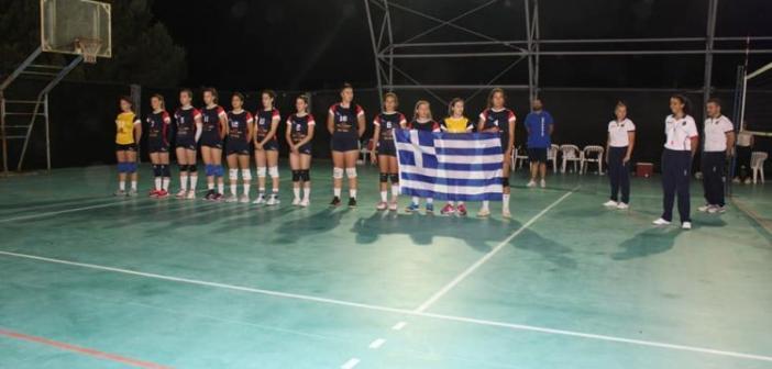 Ιστορική στιγμή και αργυρό μετάλλιο στη Σικελία για τις Κορασίδες της Ομονοίας Ναυπάκτου
