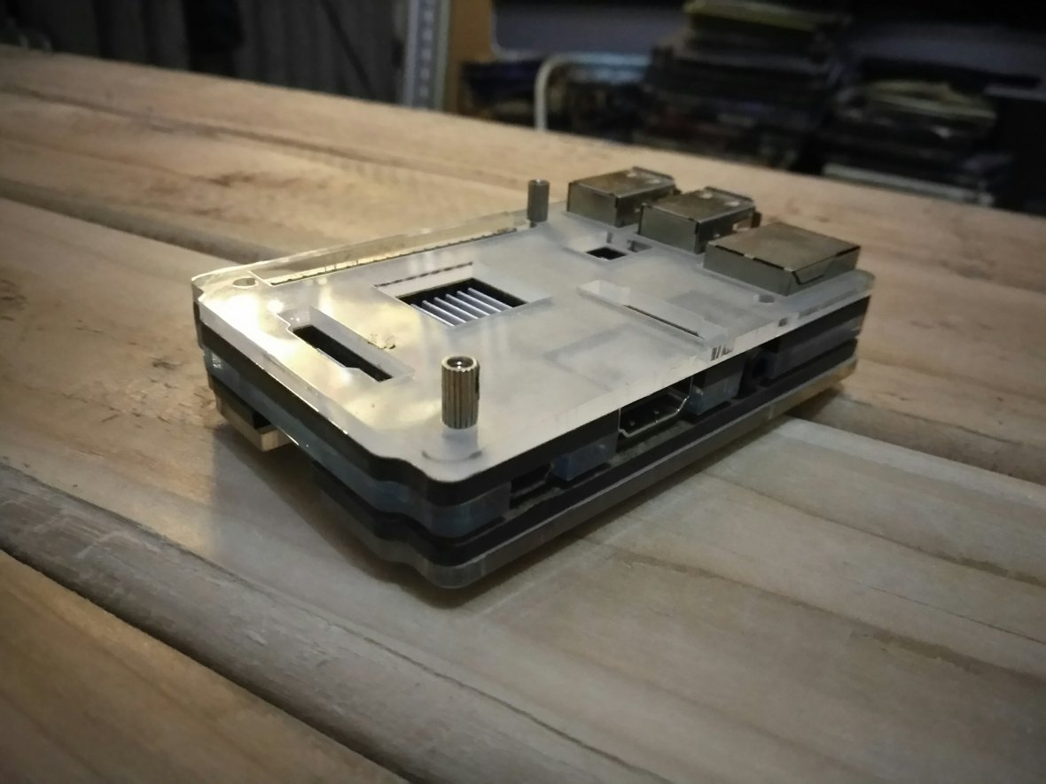 Perfect case for the Raspberry pi 3