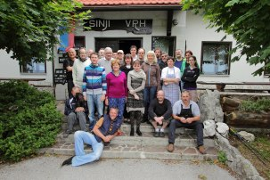 Slovenija open to art 2013 participants