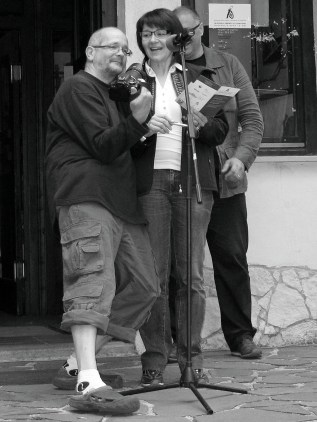 paparazzo, Anamarija, Klavdij, foto Walter Koestenbauer