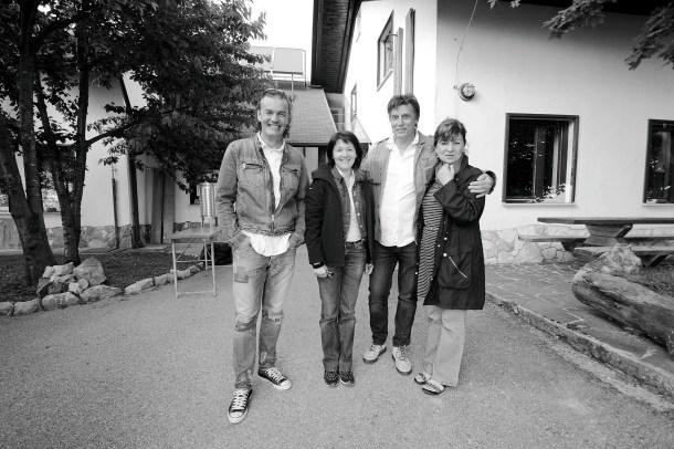Janez, Anamarija, Ron, Milena