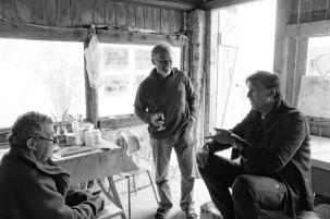 Gerard Extra, Herman Gvardjančič, Ron Weijers
