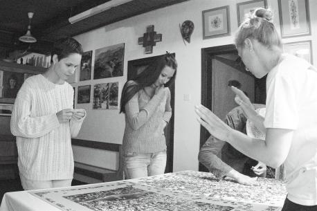 Anastasija Lysuk, Aleksandra Rakonjac, Katja Felle