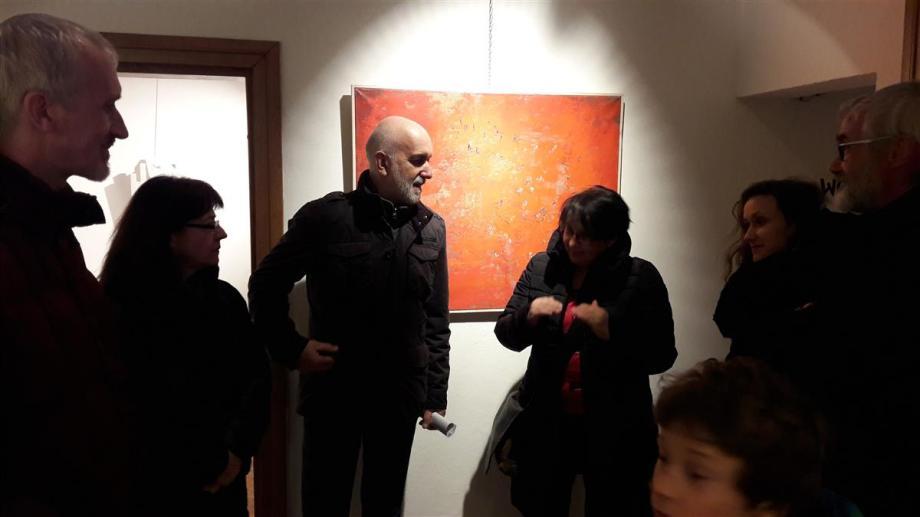 Lokarjeva galerija Ajdovščina, foto: David Ličen & Co