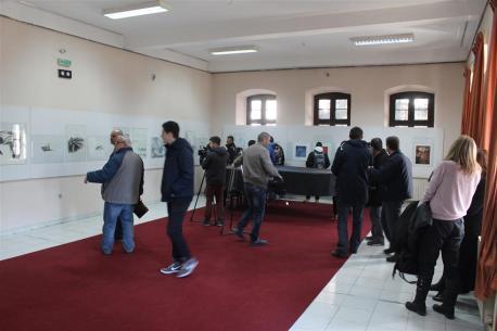 otvoritev razstave v Bitoli