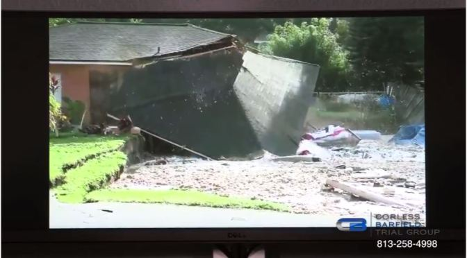 Sinkhole Swallows Homes, Boat in Land O' Lakes, Florida Forcing Evacuation