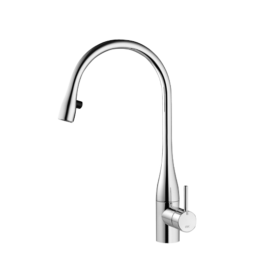 Kwc Armaturen Berührungslos Kwc Eve Kitchen Mixer Tap With Pull-out Spray & Led