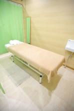 鍼灸院かざみどりのベッド