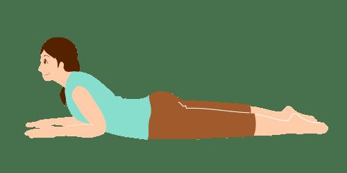 腰痛体操-マッケンジー体操2