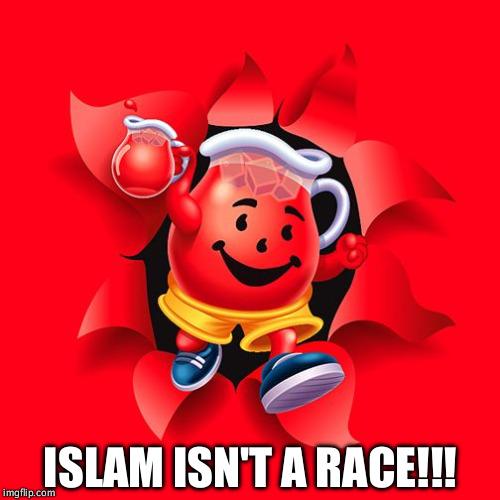 Islam isn't a race!