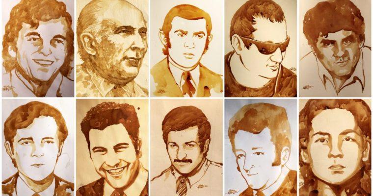 Retratos en Café, Héroes de la Memoria