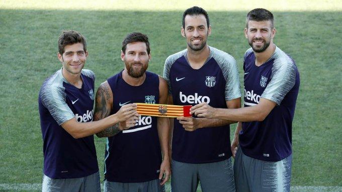 Messi fue reelegido capitán por sus compañeros — Barcelona