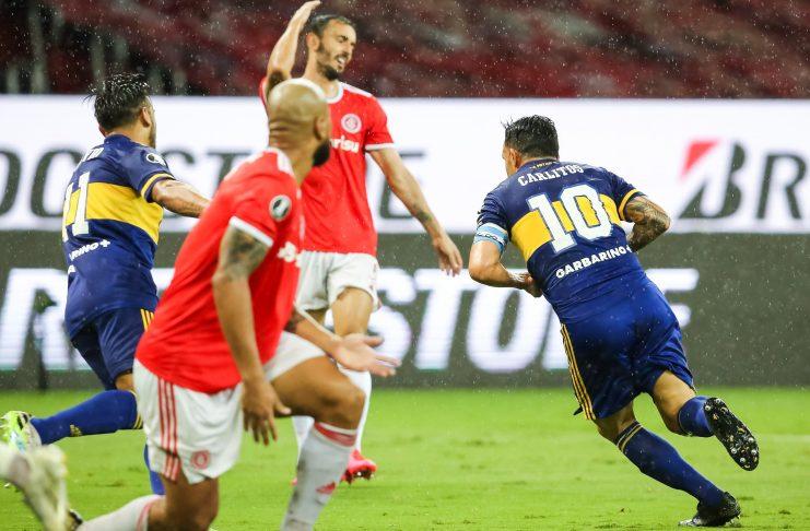 Boca venció a Inter en Brasil con gol de Carlos Tevez - Sin Mordaza