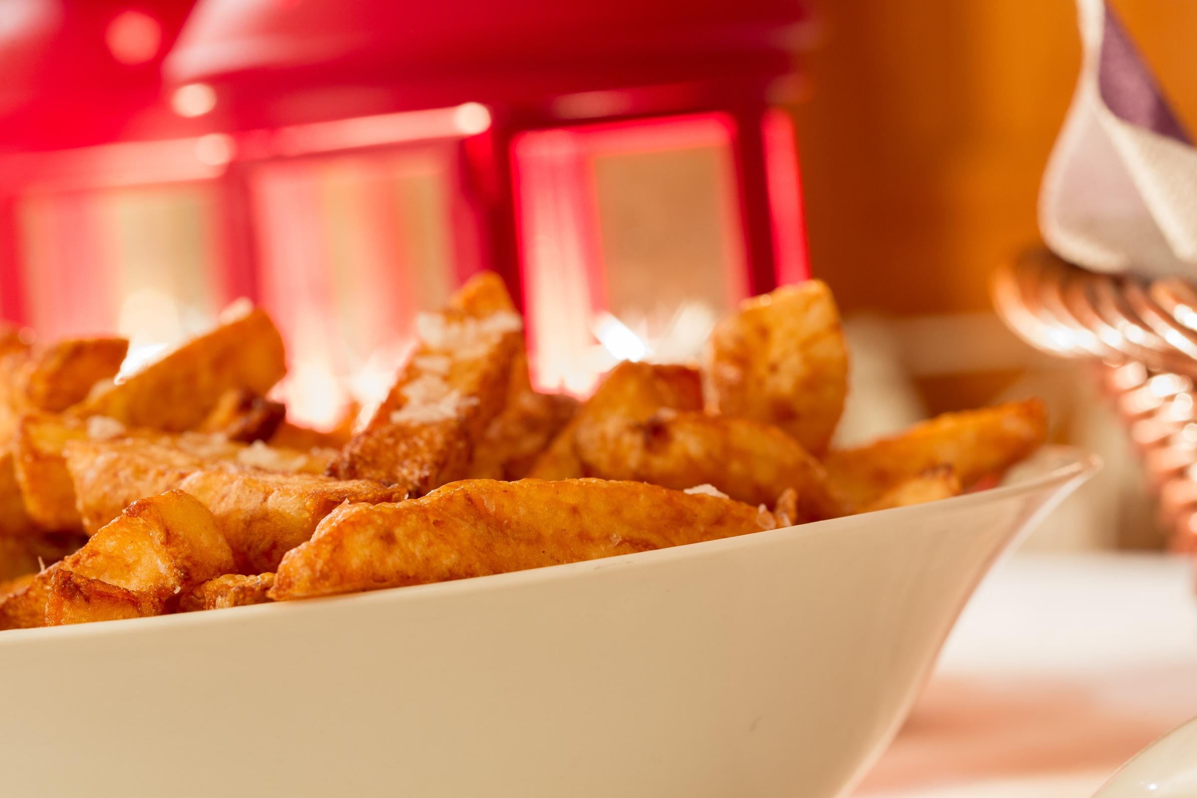 Trippel Fried Fries