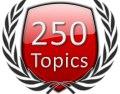 Start 250 Forum Topics Icon