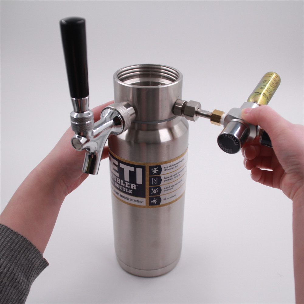 Pressurized Homecraft Beer Growler Dispenser Designed For