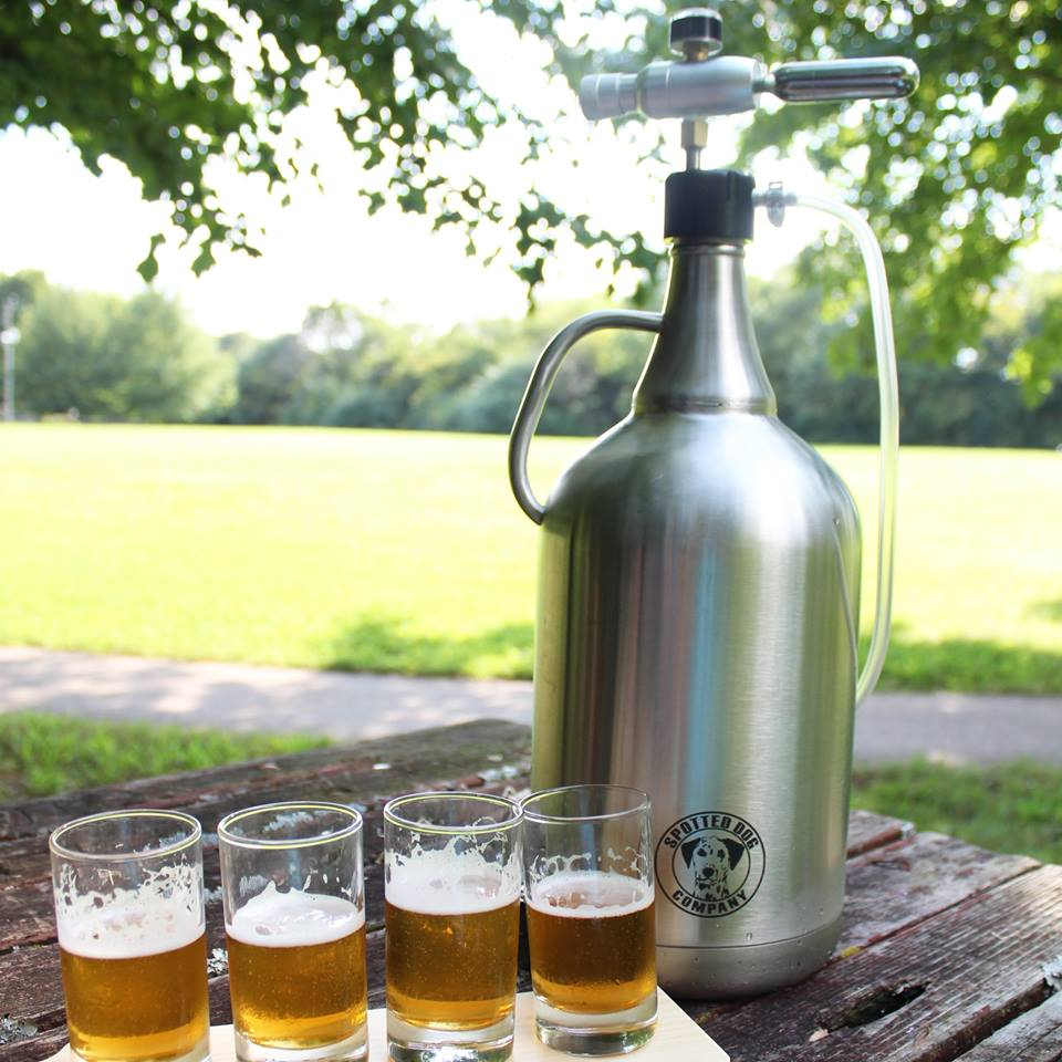 1 Gallon Stainless Steel Brewery Growlers Fit Metal