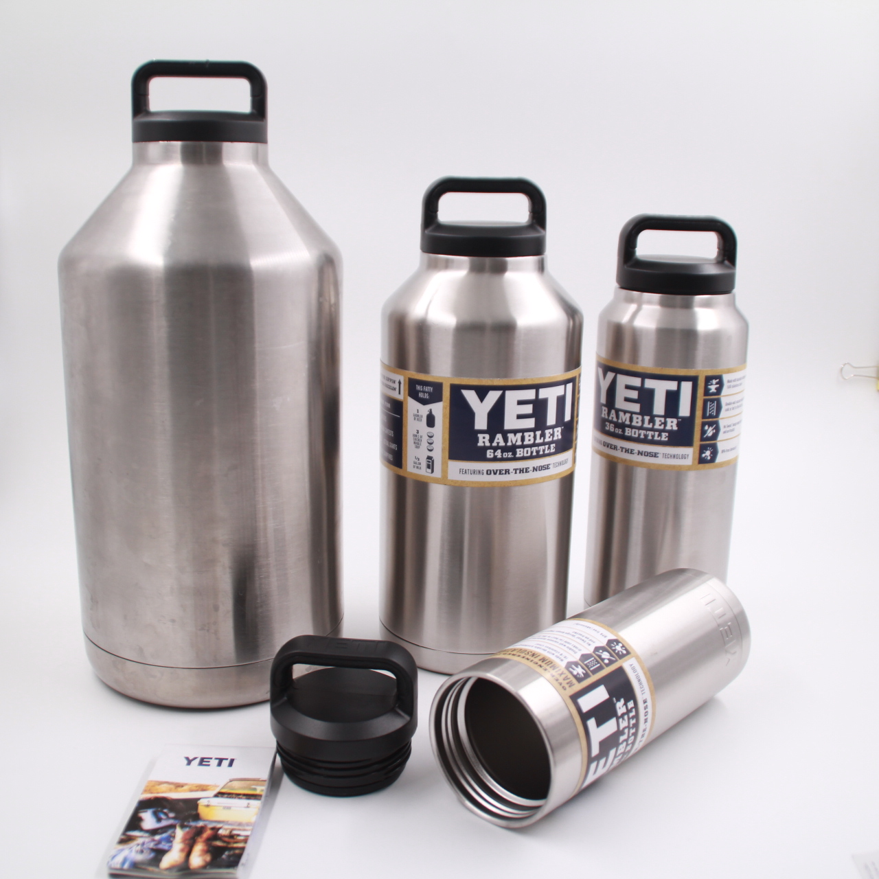 1 Gallon Stainless Steel Keg Growler Match Yeti Loop Cap