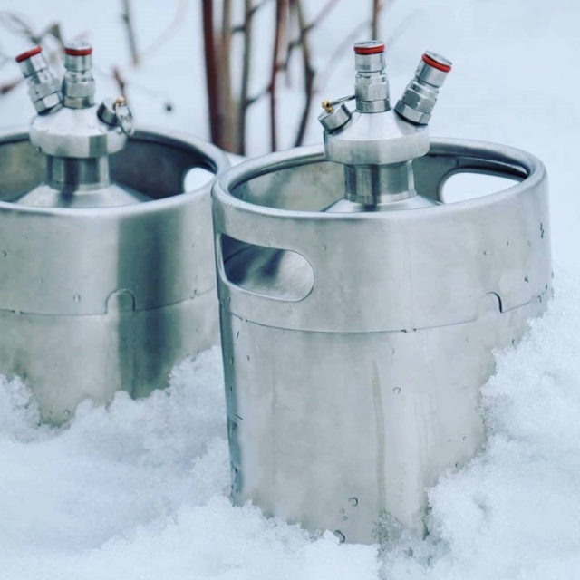 mini kegs in cold temperature