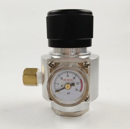 0-30 psi presuure on CO2 regulator