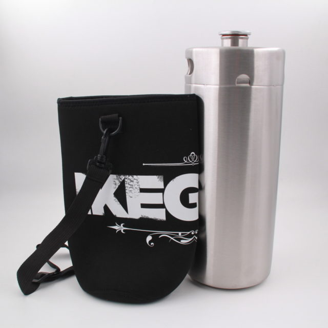 1 Gallon Personalized Neoprene Keg Cooler Koozie With