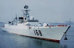 Type 052B Luyang DDG-168 3