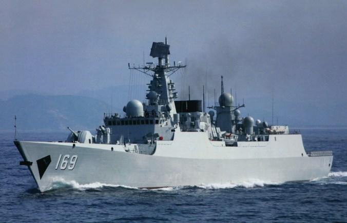 Type 052B Luyang DDG-169 Wuhan 2