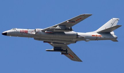 PLAAF Xi'an H-6K with KD-20 ALCM