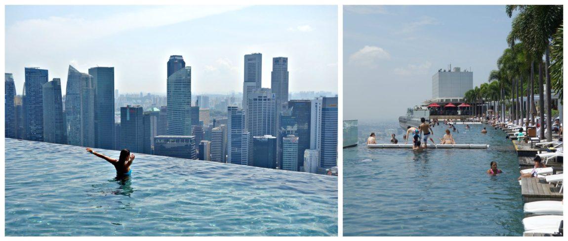 Psicina del Marina Bay Sands. Que hacer en Singapur