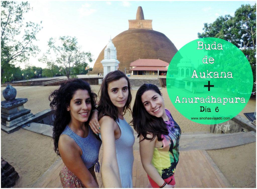 Buda de Aukana y Anuradhapura