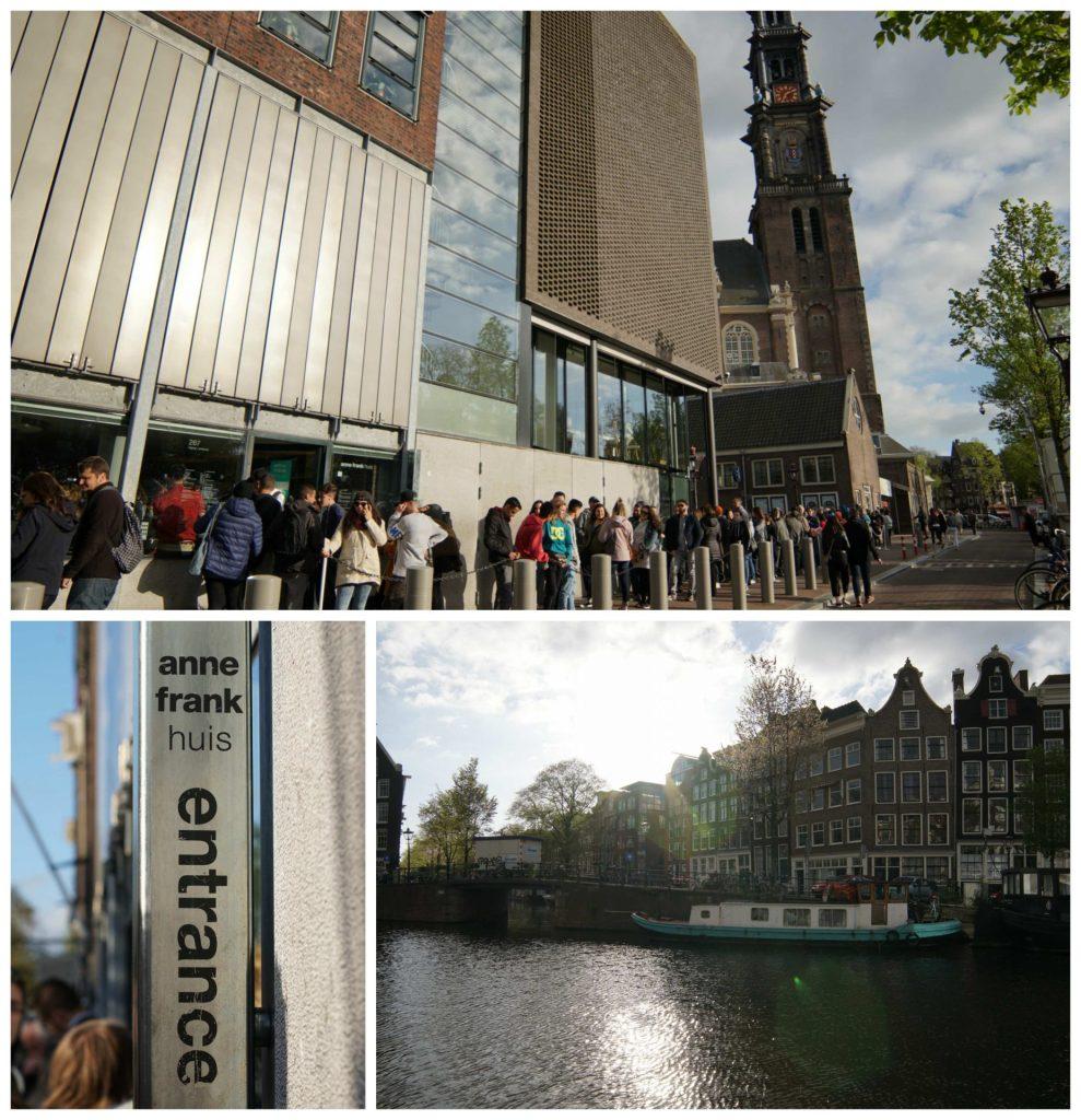Casa de Anna Frank. Que hacer en Amsterdan