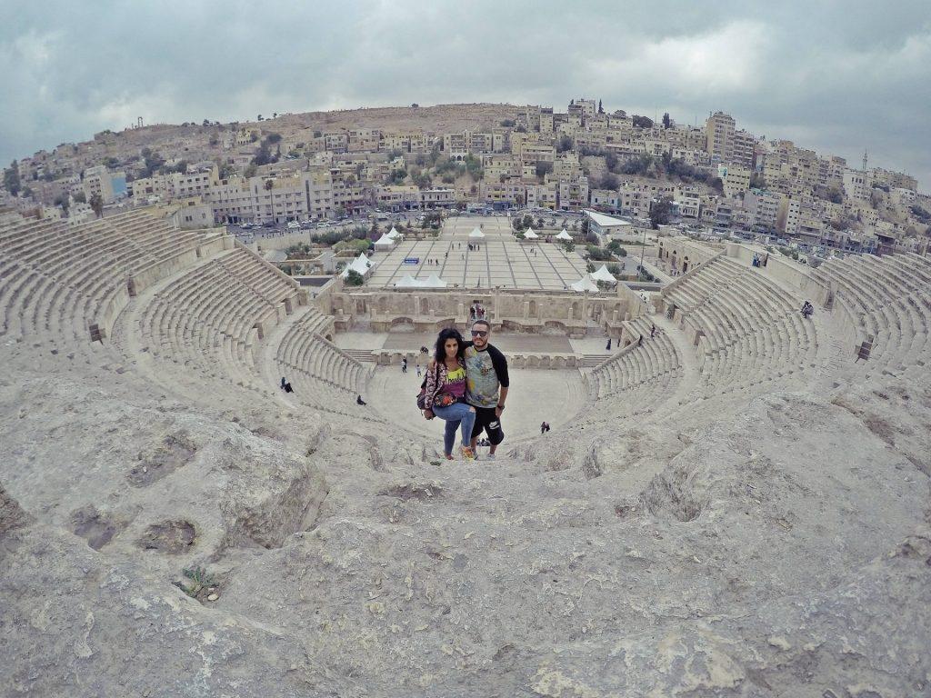 Teatro Romano de Amman. Que hacer en Jordania