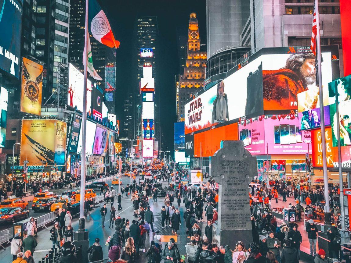 Presupuesto mochilero de Nueva York en 10 días