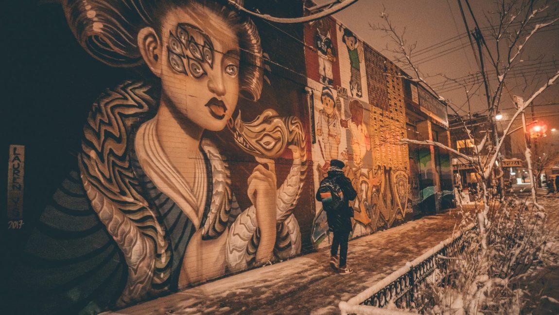 Caminando por Central Park y los graffitis de Bushwick