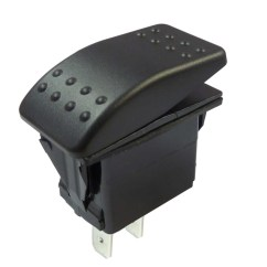 Illuminated Marine Rocker Switches Car Trailer Plug Wiring Diagram Australia Waterproof Switch On Off Ip67 12v And 24v Single Pole 12